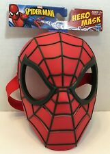 The Amazing Spider-Man HERO MASK Adjustable Strap Ages 5 and up Hasbro New!