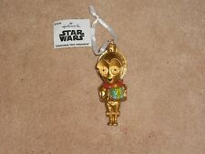 NEW, DISNEY STAR WARS CP30 CHRISTMAS TREE ORNAMENT