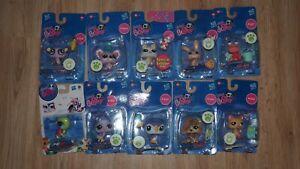 Authentic Littlest Pet Shop  Hasbro  LPS  New   10 Box