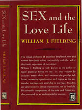 VINTAGE PERMABOOKS WILLIAM J. FIELDING SEX AND THE LOVE LIFE