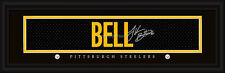 Pittsburgh Steelers Le'Veon Bell Signature Framed Print - NFL Poster Man Cave