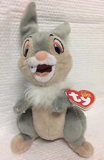 THUMPER FROM DISNEY BAMBI ORIGINAL TY BEANIE BABY ~ SOFT PLUSH TOY ~ SHIPS FREE