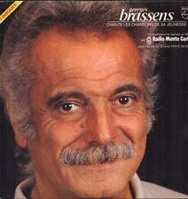 GEORGES BRASSENS Double LP 33T «Chante les chansons de sa jeunesse» MAI 1980