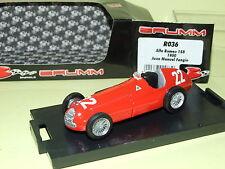 ALFA ROMEO 158  FANGIO 1950  BRUMM R036