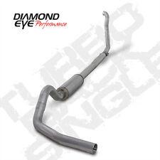 "94-97 Diamond Eye Ford 4"" Turbo Back Exhaust 3"" Down Pipe W/Off Road Pipe AL"