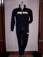 Tuta ginnastica sportiva Freddy donna felpa giacca giubbino pantaloni S 42 44