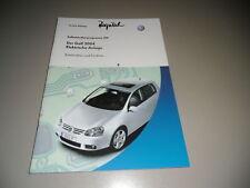 SSP 319 VW Golf V 5 Elektrische Anlage Funktion 10/2003