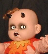 """HAUNTED Living Dead Horror Doll """"EYES FOLLOW YOU"""" OOAK"""