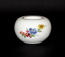Porcelaine Bougie Chauffe-plat Bougeoir Kämmer Décor Floral 10x7cm 9988003