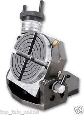 """BRAND NEW TILTING ROTARY TABLE 4"""" / 100MM FOR MILLING AND DRILL MACHINES"""