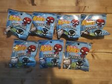 Funko Pint Size Heroes Marvel Spider-Man. Seven new and never opened, sealed.