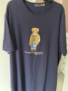 ralph lauren teddy bear t shirt