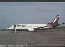 Aviation Postcard - G-IEAE Boeing 737 Markair Aeroplane, Southend Airport MB2690