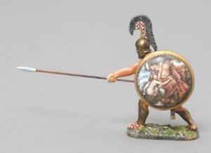 THOMAS GUNN ANCIENT GREEKS & PERSIANS SPA018C THESPIAN WARRIOR MAIDEN SHIELD MIB