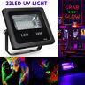 10W UV 22LED Floodlight Projecteur Spot Lampe DJ Disco Scène Jardin Party  New