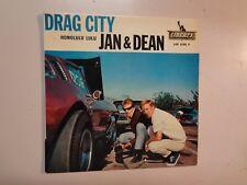 "JAN & DEAN: Drag City +3-France 7"" 63 Liberty Records INC. LEP 2155 F (M) EP PCV"