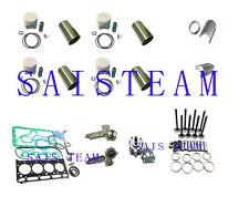 KUBATA V2203 Indirect Injection Engine Rebuild Kit Oil & Water Pump Fits Bobcat