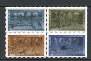 Canada 1993 SG 1576-9 WW2  Anniversary Military MNH