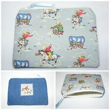 Mini Cowboy Blue Cath Kidston Fabric & Denim Handmade Coin Purse
