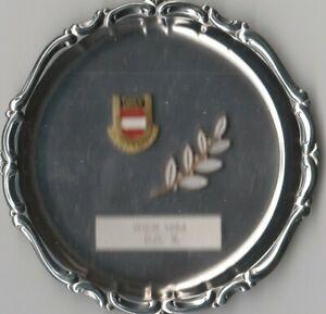 Turn und Sport Wien 1964 D.D. II. Silberteller Auszeichnung