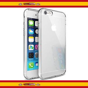 Funda Translucida Silicona Tpu Para Apple Iphone 6 Plus + 6S plus + Cover Case