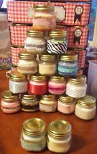 Chichi's Candles!!! With Different Scents To Enjoy!!! 4oz Mason Candles!!!