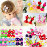 Hot Lovely Toddler Girl Hair Clip Ribbon Bow Baby Kids Bowknot Headband 10pcs