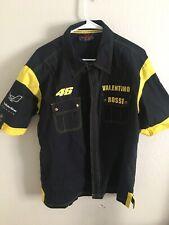 VR46 The Doctor Rare Button Up Shirt 46 Black XXL Valentino Rossi Shirt Rare j2
