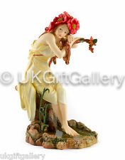 Mucha Four Seasons Sculpture SUMMER Handpainted Resin Statue  Brand New & Boxed