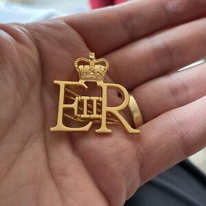 EIIR Military Badge - Queen Elizabeth II - Royal Cypher
