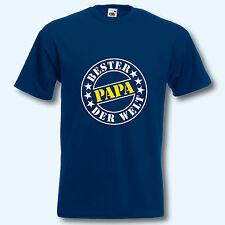 Herren T-Shirt, Fun-Shirt, Bester Papa der Welt, S-XXXL