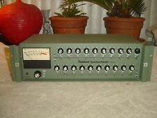 Rauland 6101A, Spectrum-Master Equalizer, 20 Band Eq, Vintage Rack, As Is Repair