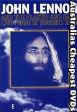 John Lennon And The Plastic Ono Band  DVD NEW, FREE POSTAGE WITHIN AUST REG 4