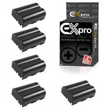 Ex-Pro Li-Ion Battery for Nikon EN-EL3e Nikon D80 D70 D70s D100 D200 D300 5 PACK