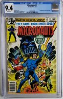 🔥🔥 MICRONAUTS #1 CGC 9.4 1ST APP BARON KARZA & BUG MOVIE COMING