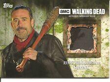 Walking Dead Season 6 Jeffrey Dean Morgan as Negan Mold Varian Relic Card 15/25