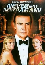 Never Say Never Again - Sean Connery,Kim Basinger, Klaus New Sealed Region 2 DVD