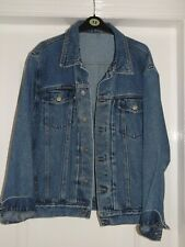 MENS DENIM JACKET - SIZE LARGE