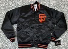 NWT'S Starter Diamond Collection San Francisco Giants MLB Satin Jacket SZ M VTG