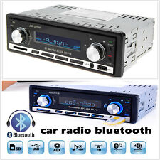HOT  Bluetooth CD USB MP3 FM Radio In Dash Receiver Din AUX Car Stereo Player