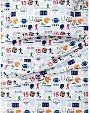 Circo Flannel Sheet Set ~ Game On Sports ~ TWIN ~ New with Tags!!