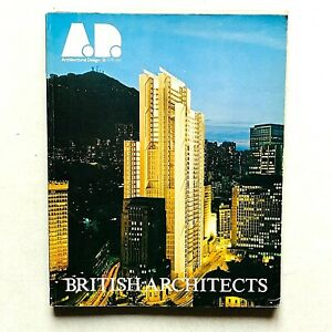 AD A.D. Architectural Design 3/4 1981 British Architects Derek Walker Stirling