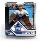 McFarlane NHL Serie 32 Johnny Bower Toronto Maple Leafs White Jersey