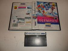 Sega Master System   Winter olympics