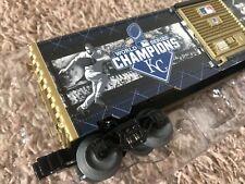 Lionel 2015 World Series KC Royals MLB Champions O Scale Model Boxcar Train Car