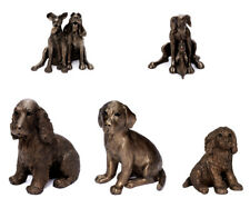 Dog Figures Art Sculpture Resin Dog Figurine Resin Art Object Handmade