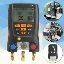 Pro Testo 549 Refrigeration Digital Manifold Hvac Gauge Meter System 0560 0550