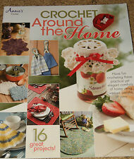 CROCHET: Crochet Around the Home ~ 16 Great Projects~Annie's