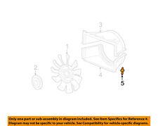 GM OEM Cooling Fan-Lower Shroud Retainer 5973400