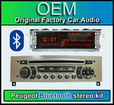 Peugeot 308 Bluetooth stereo, Peugeot AUX USB radio, LCD Screen, Microphone